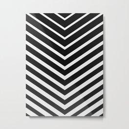 Chevron minimalist I Metal Print