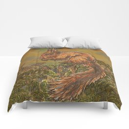 September Squirrel Comforters