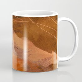 landscape in fall abstract art Coffee Mug