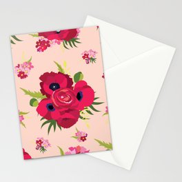 All about red Stationery Cards