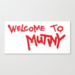 Welcome to Mutiny - Halt & Catch Fire Canvas Print