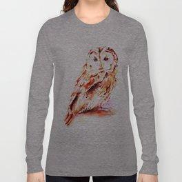 Strix aluco Long Sleeve T-shirt