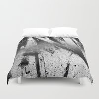 the xx Duvet Covers featuring Abstract XX by morenina