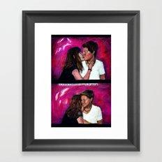 Kanoodling Framed Art Print