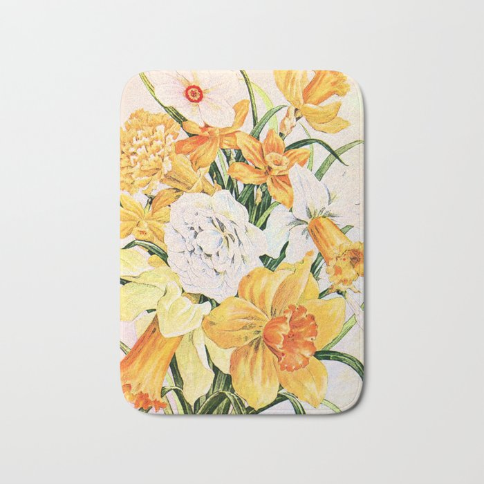 Wordsworth  and the daffodils. Bath Mat
