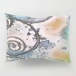 Vintage swirl Pillow Sham