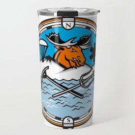 Moose Pararescue Mascot Travel Mug