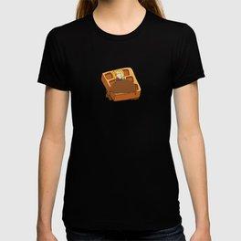Leslie Knope + Giant Waffle T-shirt