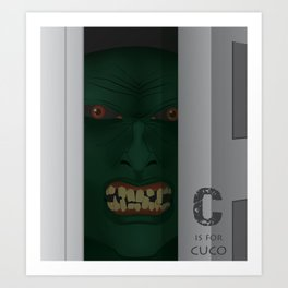 C is for Cuco Art Print