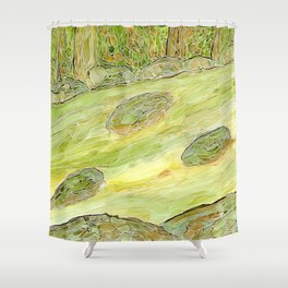 Eno River 22 Shower Curtain