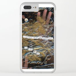 My fire Clear iPhone Case