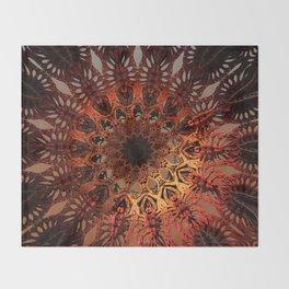 Sun Dial Throw Blanket