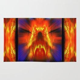 Fire Phoenix Rug