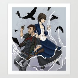 Gods and Monsters (bioshock Infinite) Art Print