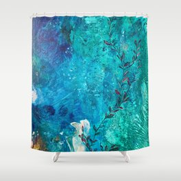 Joseph's Coat for The Ocean Environment Shower Curtain