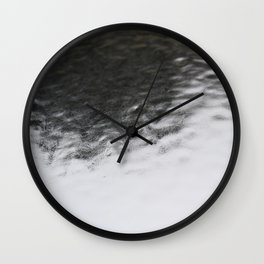 Short Breaths Wall Clock