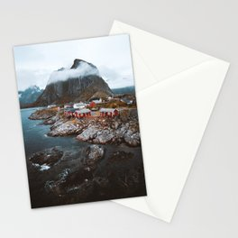 Hamnoy Village Stationery Cards