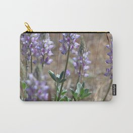 Dusty Desert Lupine Carry-All Pouch