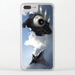The Getaway Clear iPhone Case