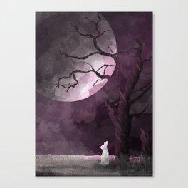 Spooky Wabbit Canvas Print
