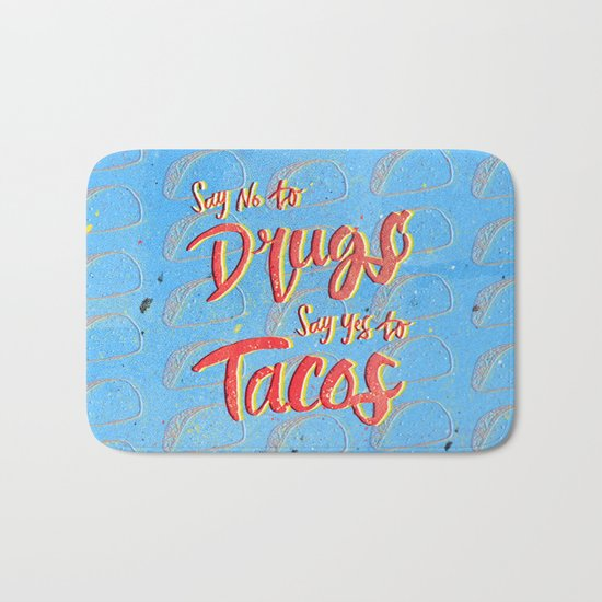 Say Yes to Tacos Bath Mat