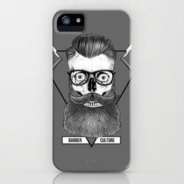 Bearded Skull iPhone Case