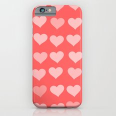 Cute Hearts Slim Case iPhone 6s