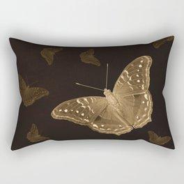 Butterflies in the dark Rectangular Pillow
