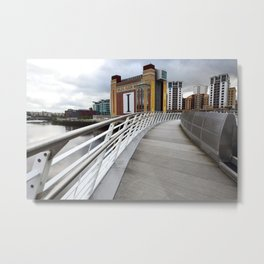 The River Tyne Metal Print