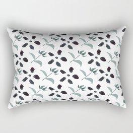 Little Frowers ( Pattern Paynes Grey) Rectangular Pillow