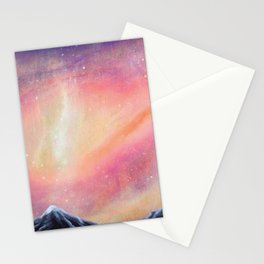 Lila-cosmic play Stationery Cards
