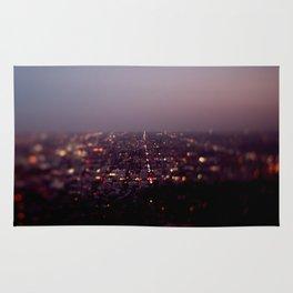 Angel City Lights, L.A. at Night (No. 2) Rug