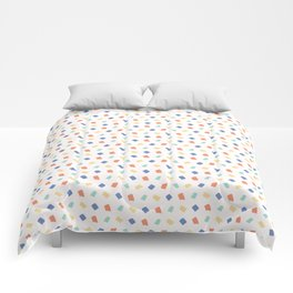 Hand drawn vector tiny confetti sprinkles Comforters