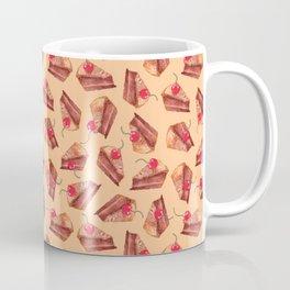 cherries & cakes- peach orange Coffee Mug