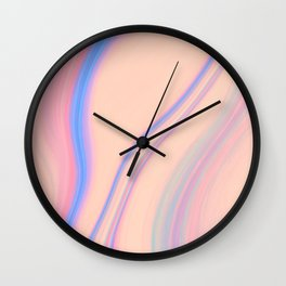 Marble Abstract 5 Wall Clock