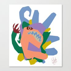 Creature 2 Canvas Print
