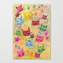 Meowza! Canvas Print