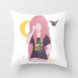 Bubbline Throw Pillow