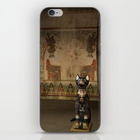 egypt iPhone & iPod Skins featuring Egypt temple  by nicky2342