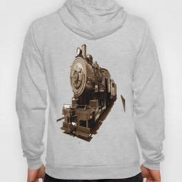 Train Riding The 410 photography Hoody