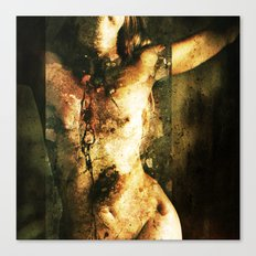 All things broken are 11 Canvas Print