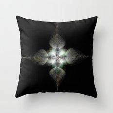 Four Feathers Throw Pillow