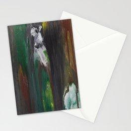 Llama in Wood Stationery Cards