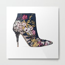 Shoe/Boot Illustration Metal Print