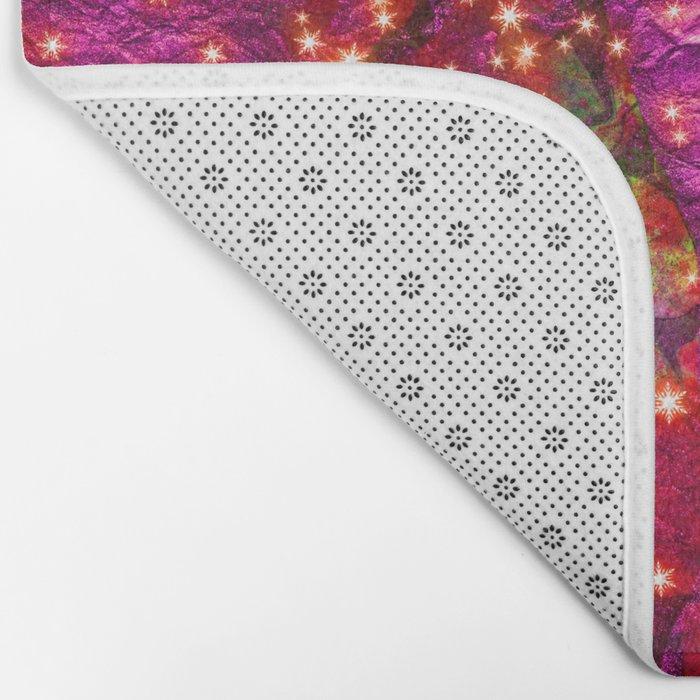 abstract stars Bath Mat