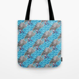 Ibis Bird pattern Tote Bag