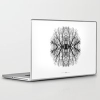 scary Laptop & iPad Skins featuring Scary trees are scary by Pietro Bellini