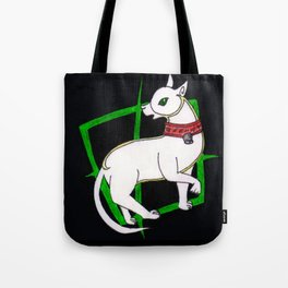 Mogget the cat (Celtic style) Tote Bag