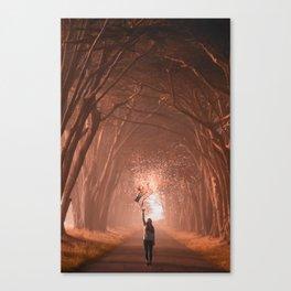 mood life Canvas Print