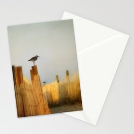 be still and breathe Stationery Cards